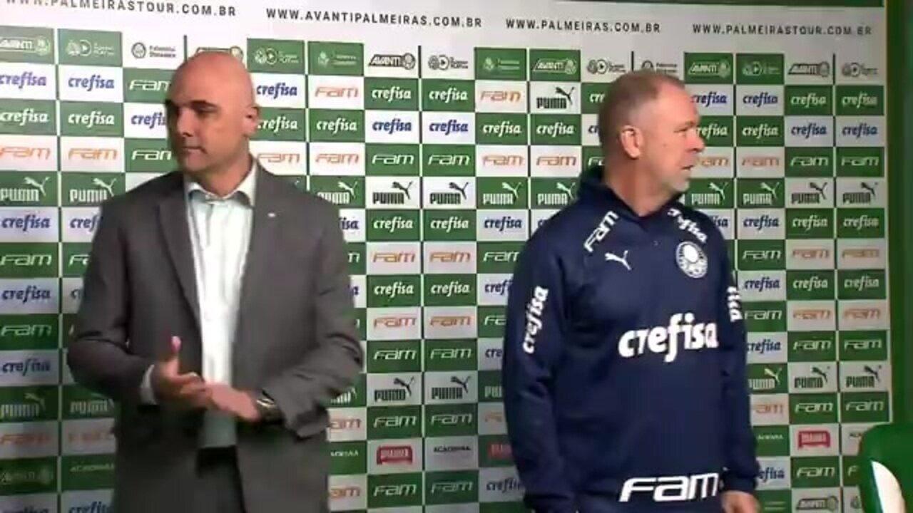 Mano Menezes é apresentado como novo técnico do Palmeiras
