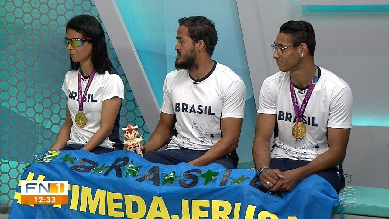 """Assista à entrevista com o """"Time da Jerusa"""", exibida pelo FN1 desta quinta-feira (5)"""