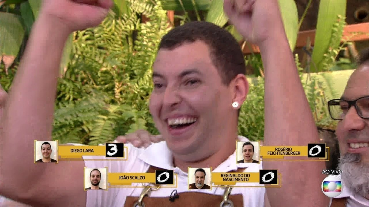 Diego Lara ganha o concurso de 'A Melhor Linguiça do Brasil'