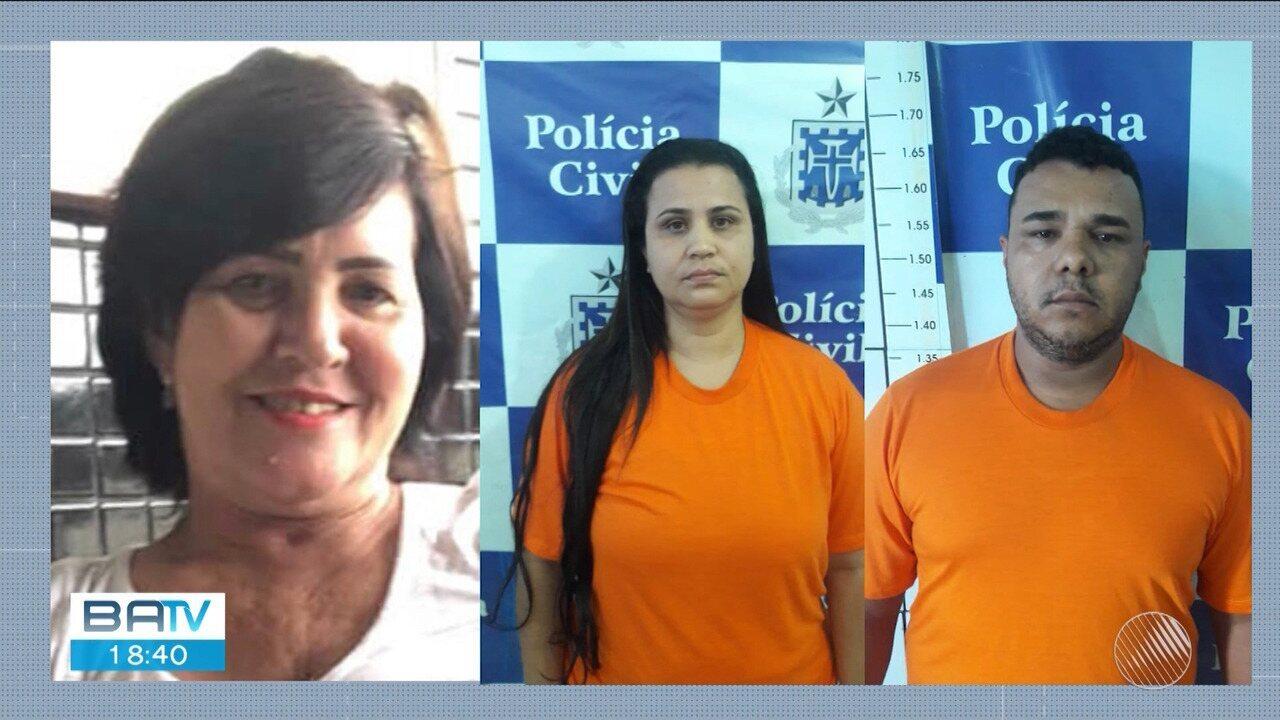 Mulher, companheiro e filha são presos suspeitos de homicídio em Itapetinga