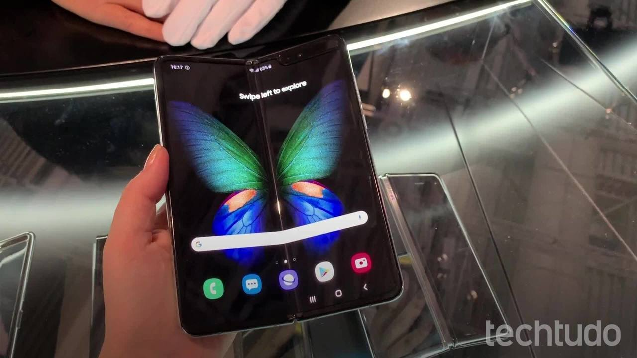 Galaxy Fold: veja curiosidades do celular com tela dobrável da Samsung