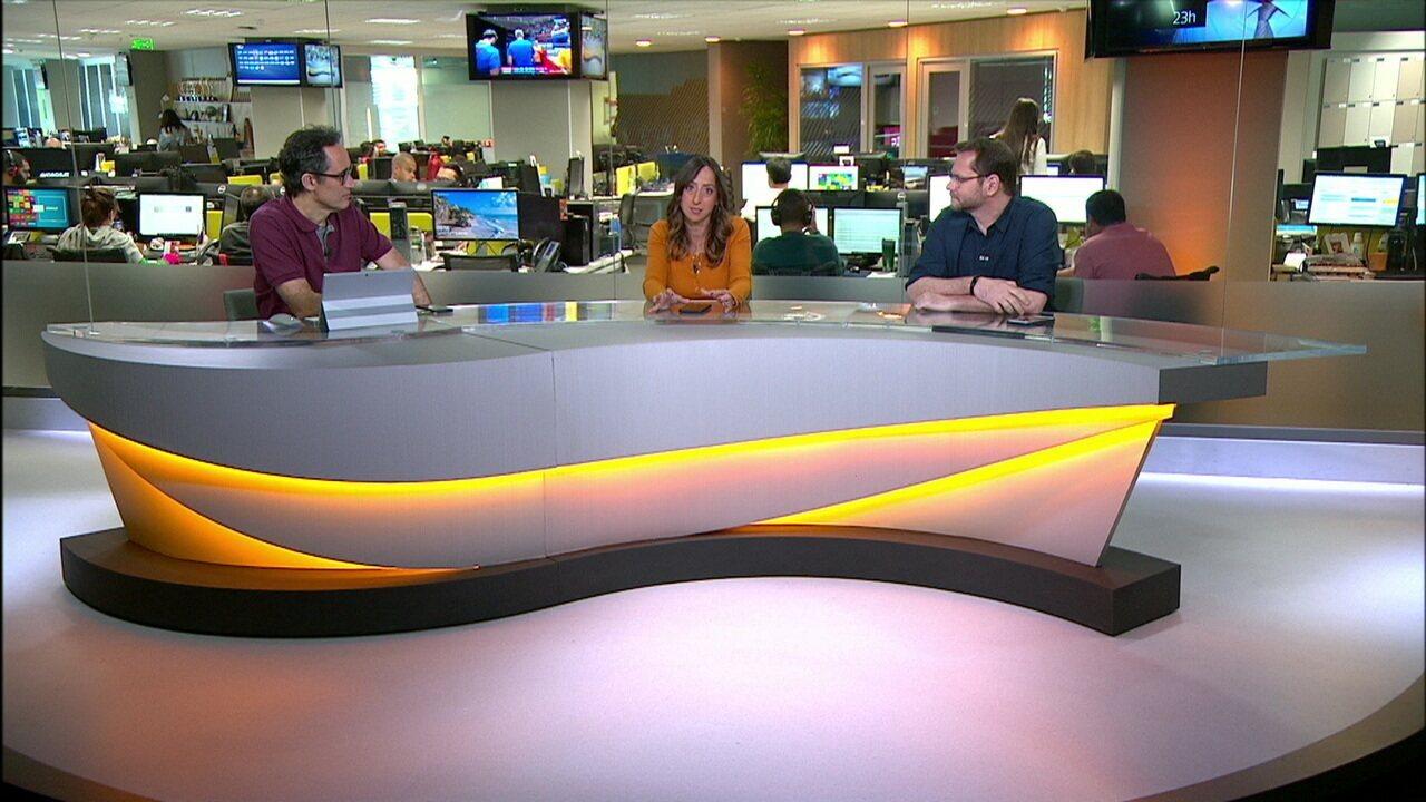 Comentaristas debatem briga pela liderança e destacam vantagem do Flamengo