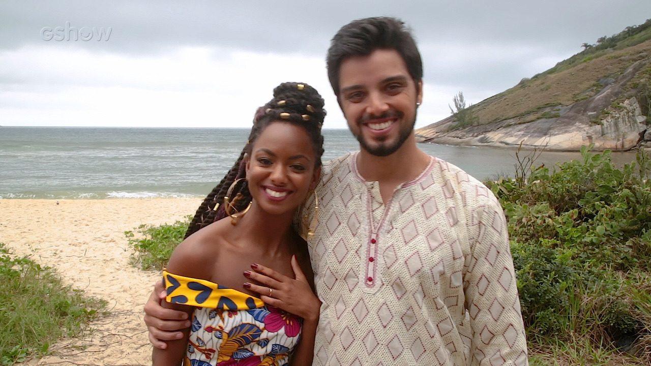 Eli Ferreira e Rodrigo Simas falam sobre casamento de Marie e Bruno