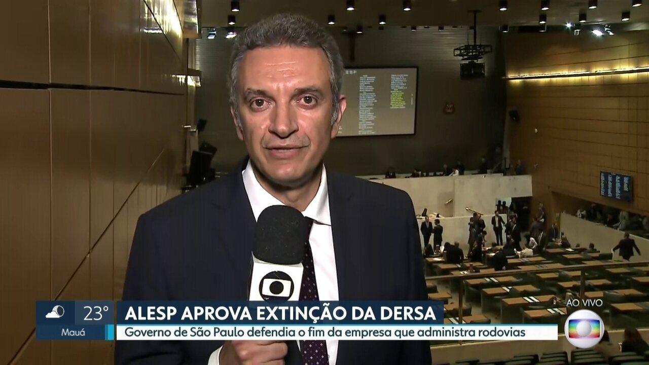 Alesp aprova extinção da DERSA