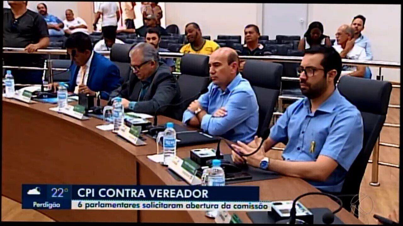 CPI é instaurada para investigar vereador em Araxá