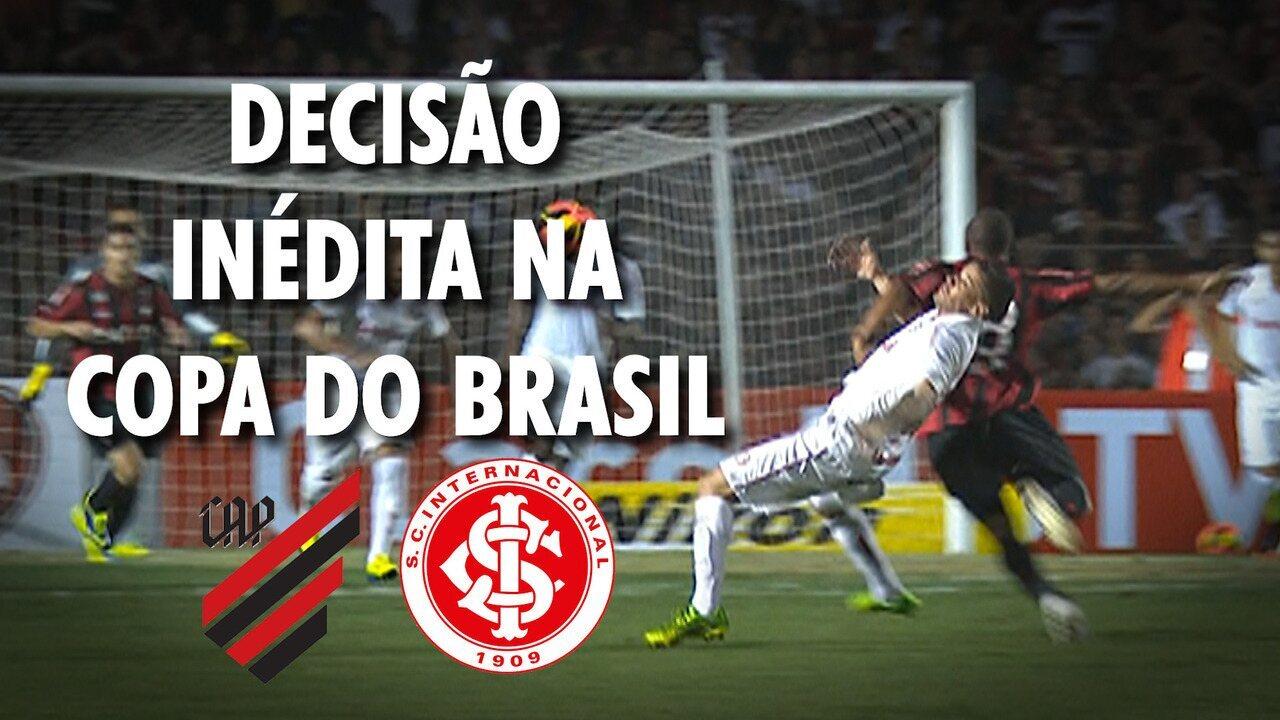 O histórico que entra em campo com Athletico-PR e Inter na decisão da Copa do Brasil