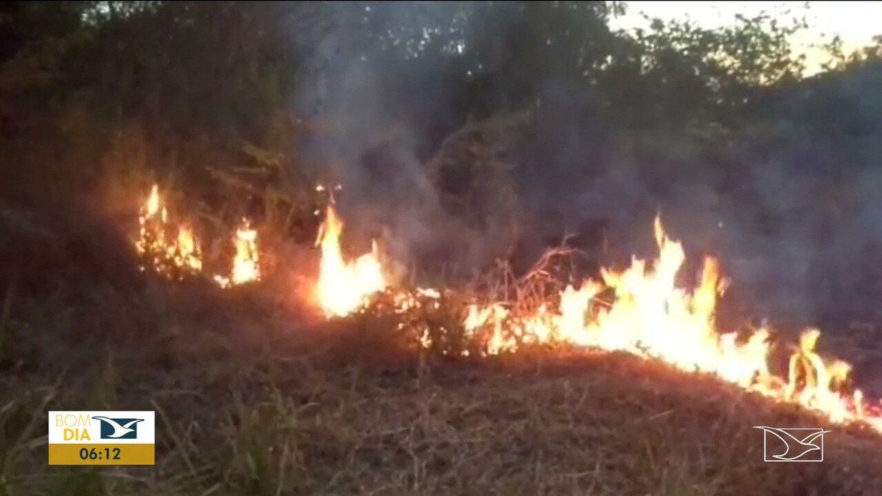 Incêndios preocupam donos de terrenos em Santa Inês