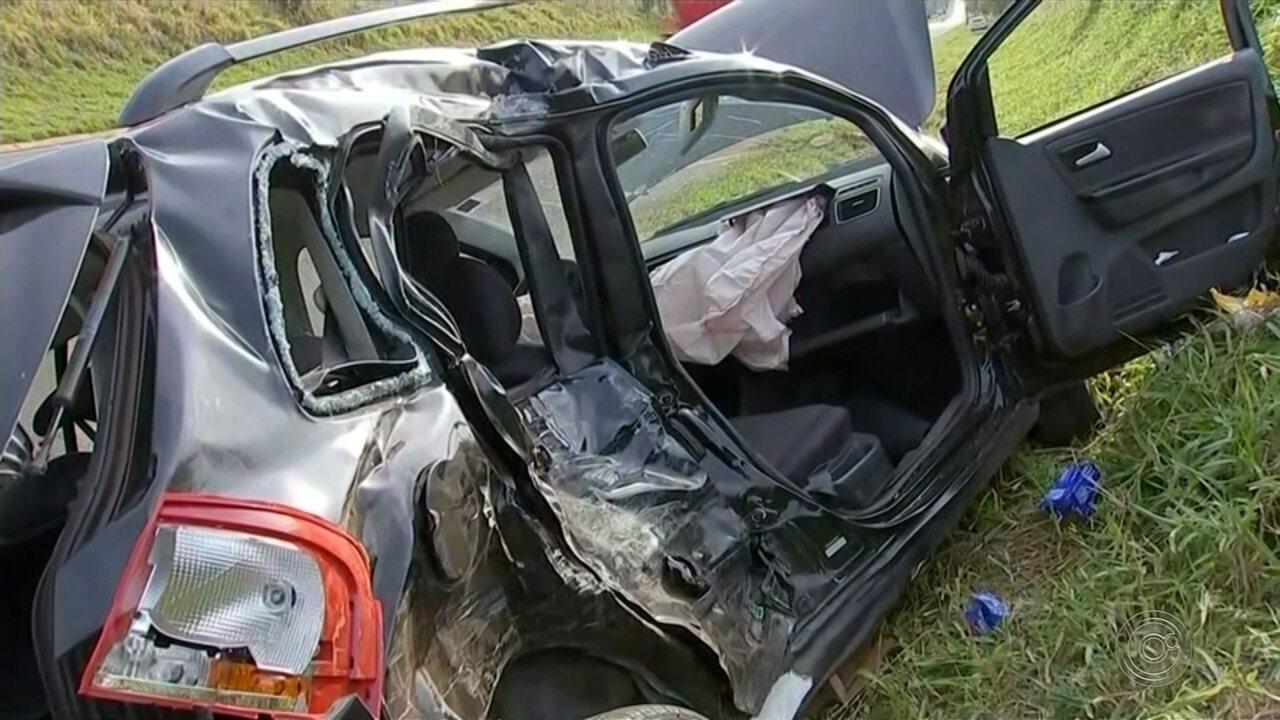 Acidente deixa um morto e feridos em rodovia que liga Avaré a Cerqueira César