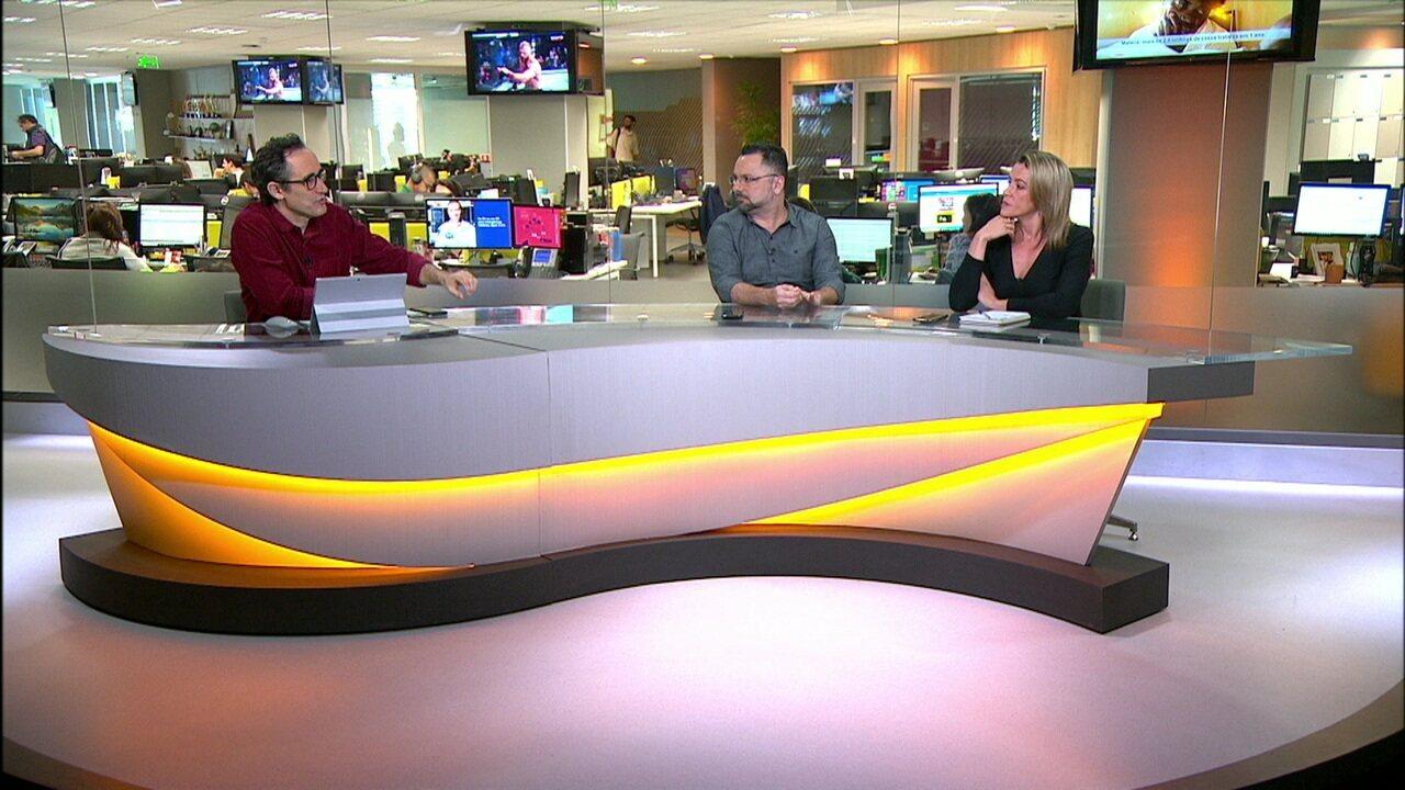 Comentaristas do Redação SporTv analisa o primeiro jogo da final da Copa do Brasil entre Athletico-PR x Internacional