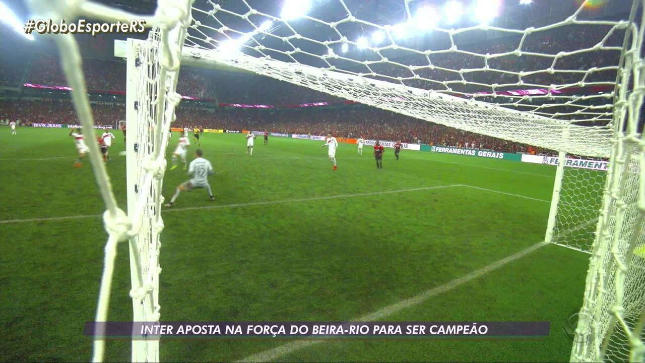 Inter aposta na força do Beira-Rio para ser campeão da Copa do Brasil
