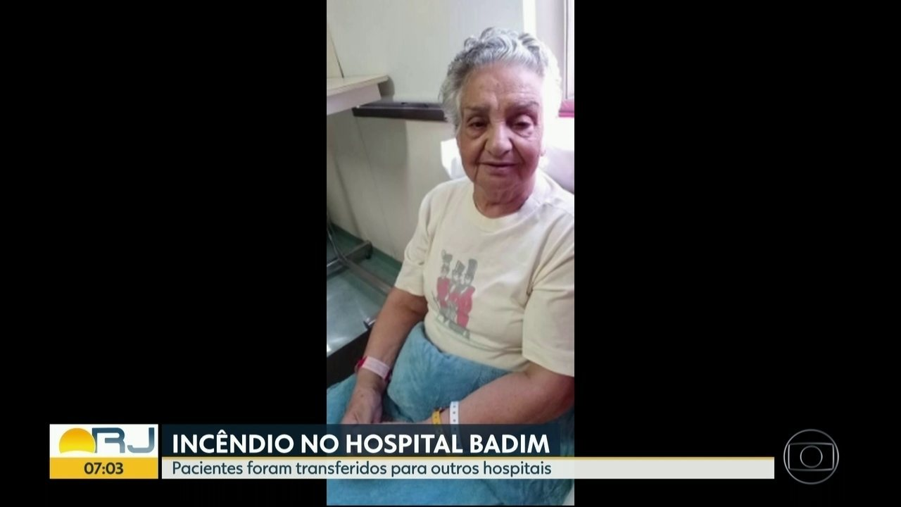 Família procura idosa que estava internada no hospital Badim