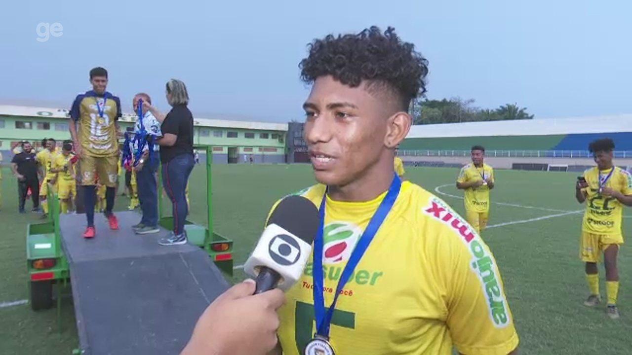 """Volante do Galvez comemora fim de jejum particular e foca profissional: """"Ir além"""""""
