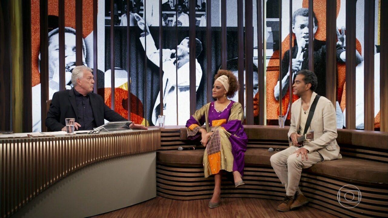 Luciana e Jair falam sobre a avó Conceição e se emocionam com depoimento do pai