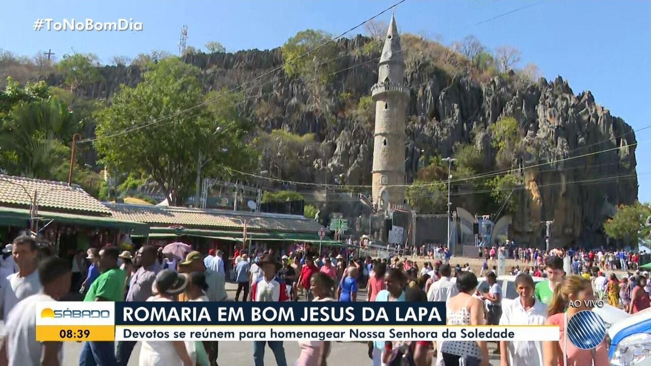 Fiéis participam neste sábado da romaria de Bom Jesus da Lapa