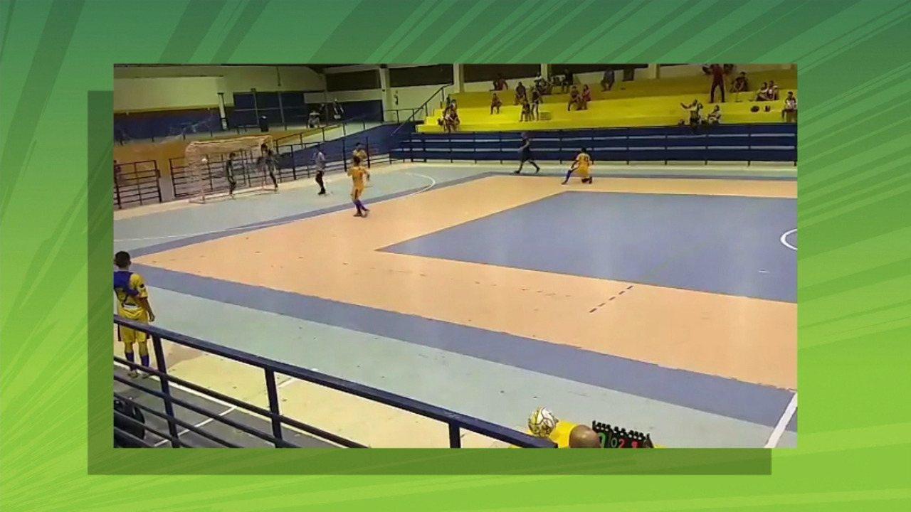 Independente sai na frente do Constelação na final do Estadual de Futsal Sub-20