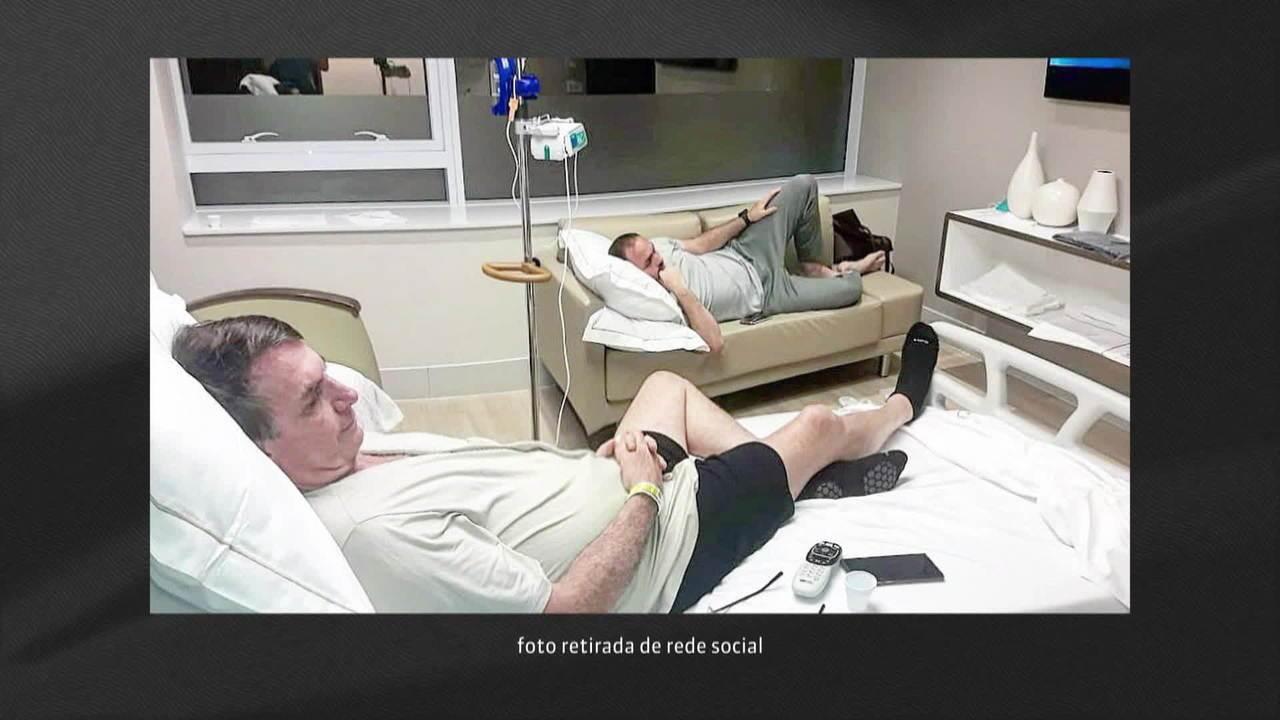 Presidente Jair Bolsonaro começa dieta pastosa