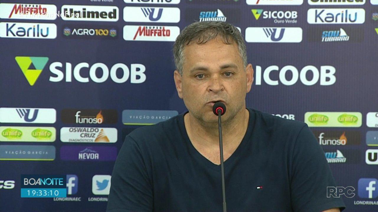 Presidente do Londrina Esporte Clube faz Boletim de Ocorrência contra deputado federal