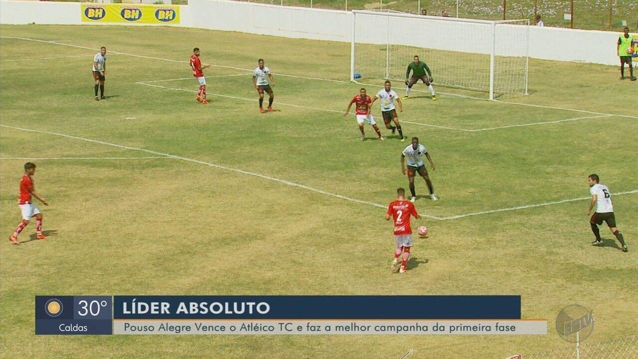 Pouso Alegre FC bate o Atlético de Três Corações e conquista liderança geral na Segundona
