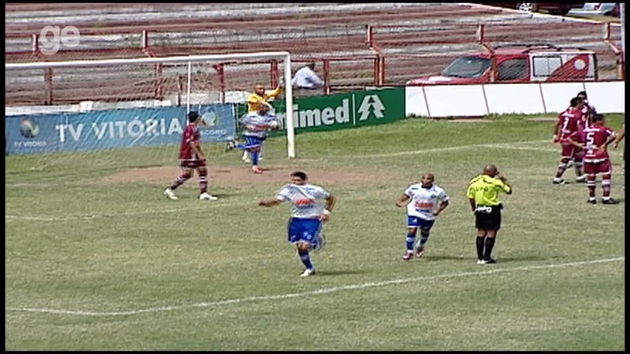 Os gols de Desportiva Ferroviária 1 x 1 Vitória-ES, pela Copa Espírito Santo 2011
