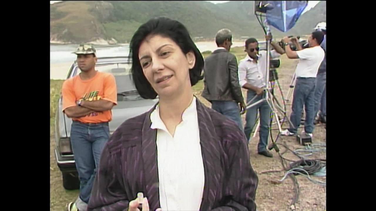 Reveja matéria com Marília Pêra antes da estreia de Top Model (1989)