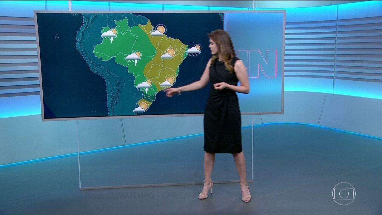 Previsão do tempo com Eliana Marques