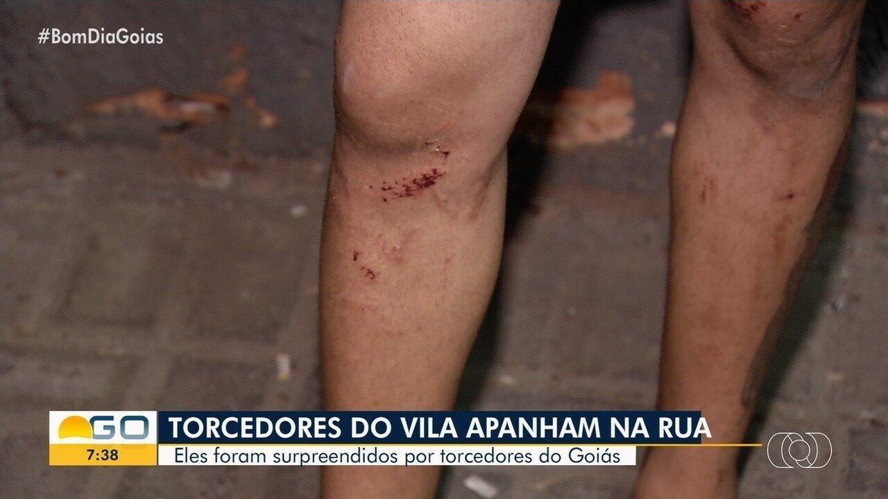 PM prende suspeito de agredir torcedor do Vila Nova