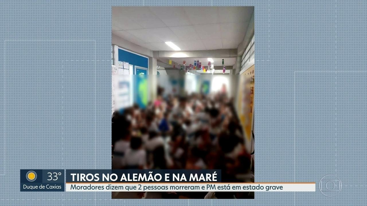 Moradores do Complexo da Maré relatam tiros durante operação