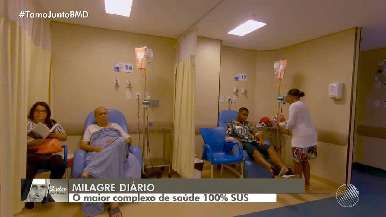 Santa Dulce: complexo de saúde fundado pela religiosa oferece atendimento 100% gratuito