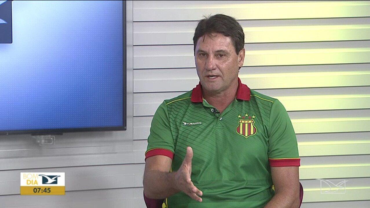 Brigatti é entrevistado no Bom Dia Mirante e fala da expectativa do Sampaio para decisão