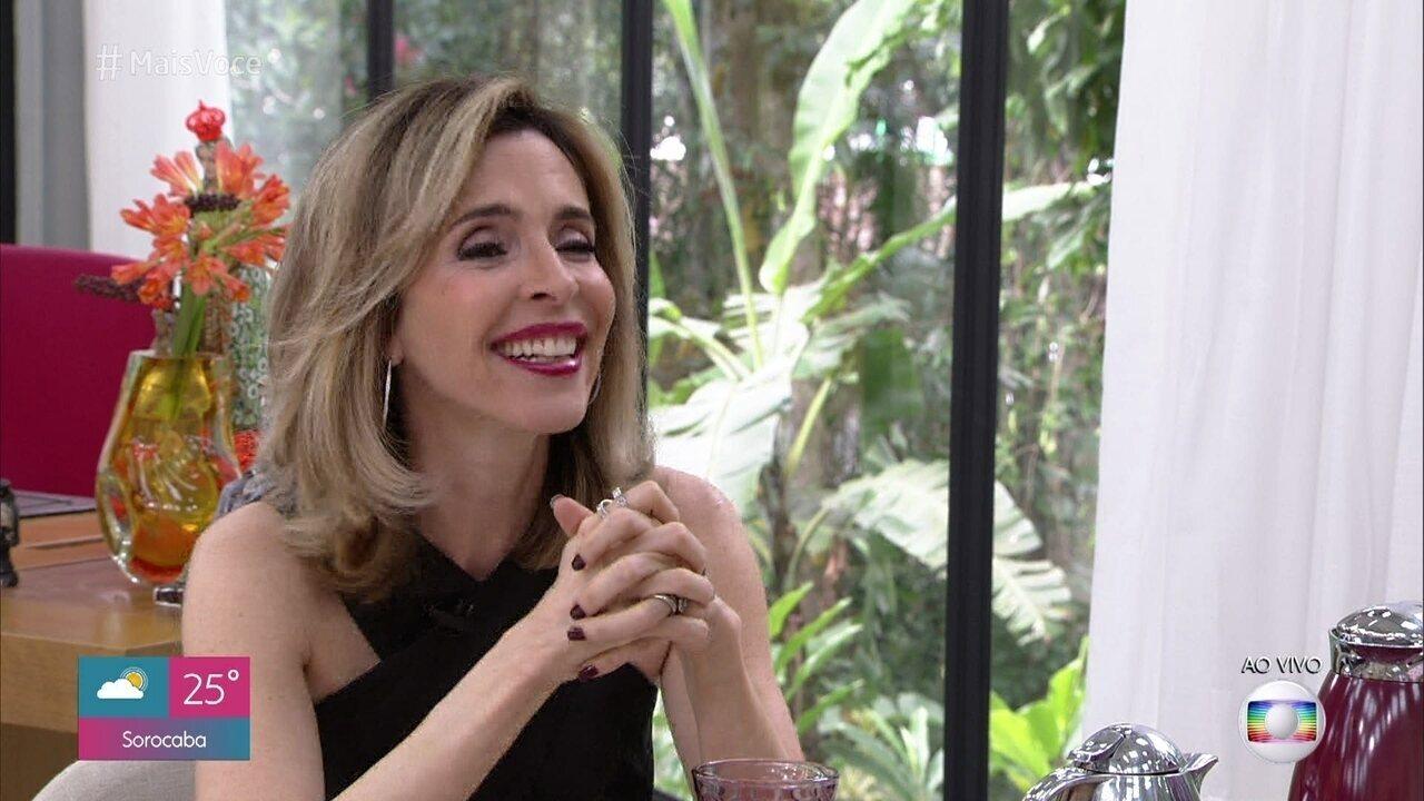 Deborah Evelyn fala das confusões de Lyris em a 'Dona do Pedaço'