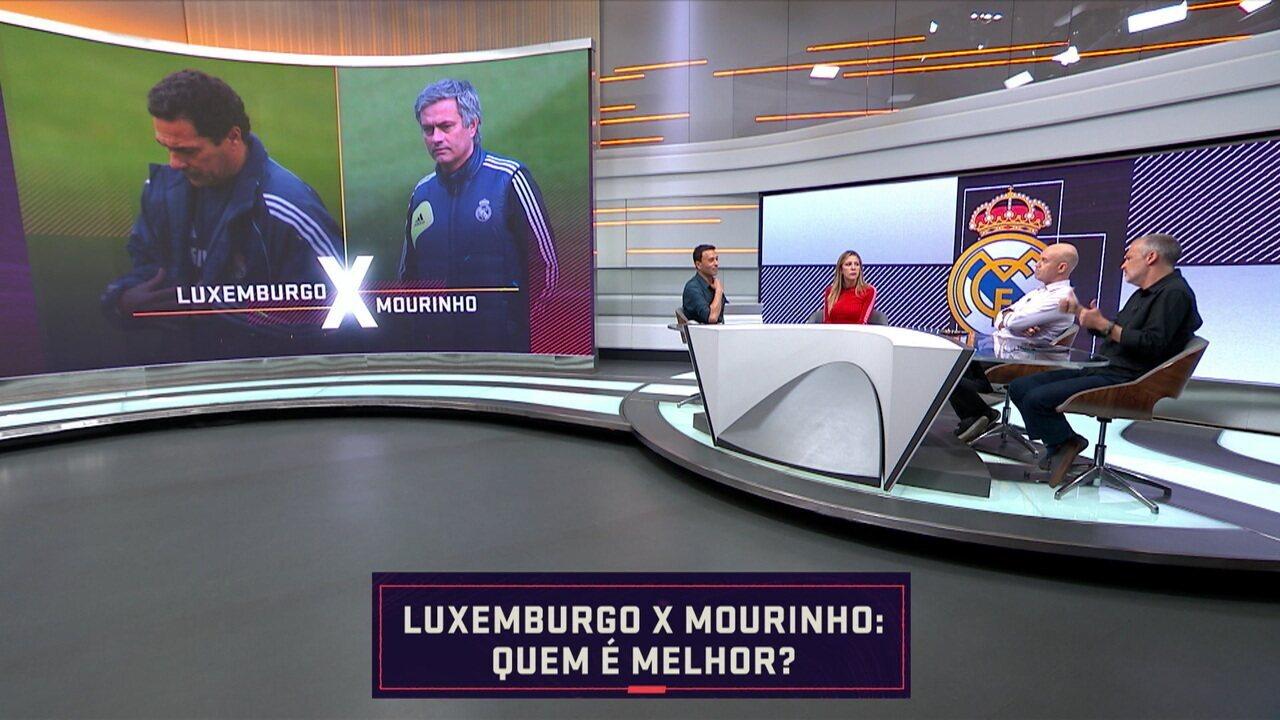 Quem é melhor? Luxemburgo ou José Mourinho?