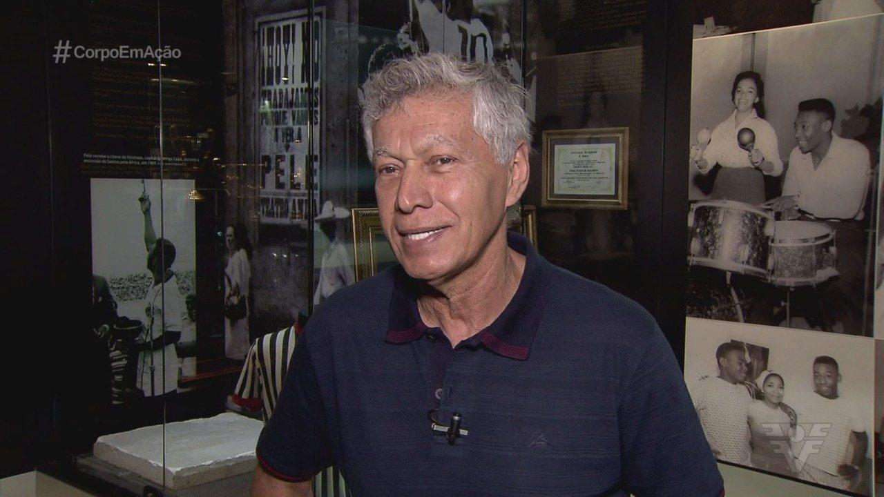 Um dos maiores nomes da história do Santos, Clodoaldo completa 70 anos de vida