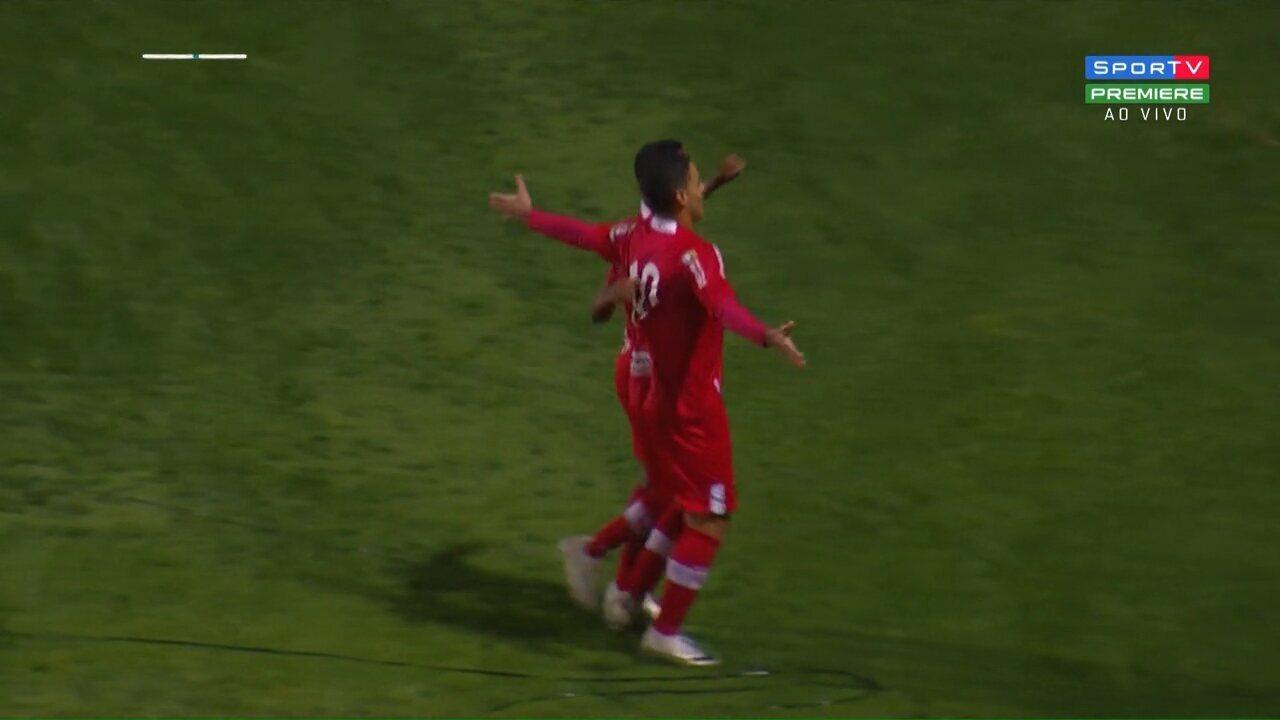 Os gols de Coritiba 0 x 2 CRB, pela 23ª rodada da Série B