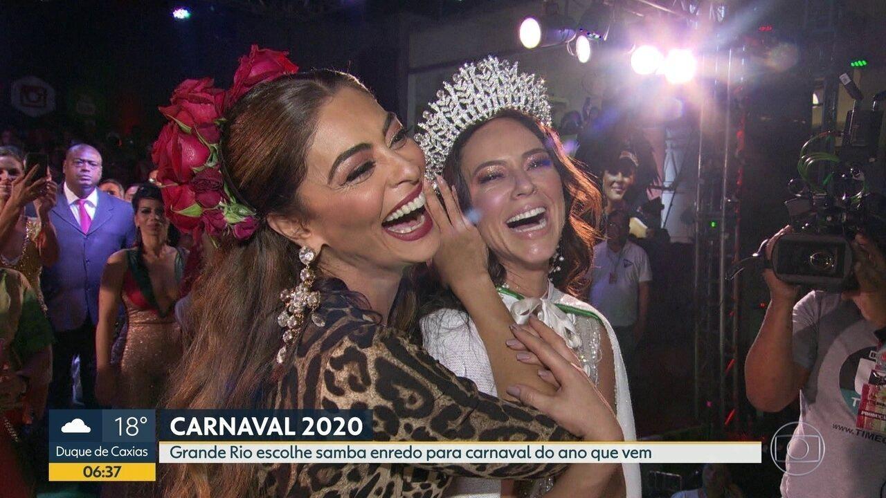 Grande Rio escolhe samba enredo para carnaval 2020