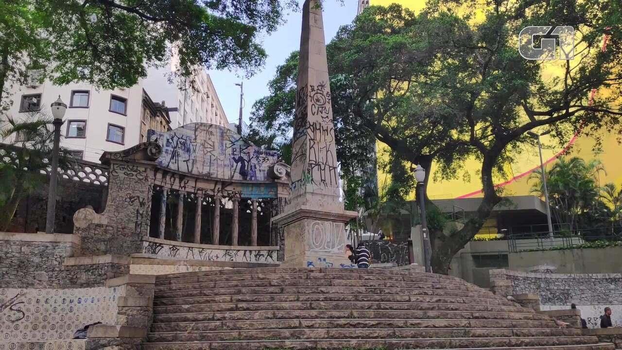 Monumento mais antigo de São Paulo está em mau estado de conservação
