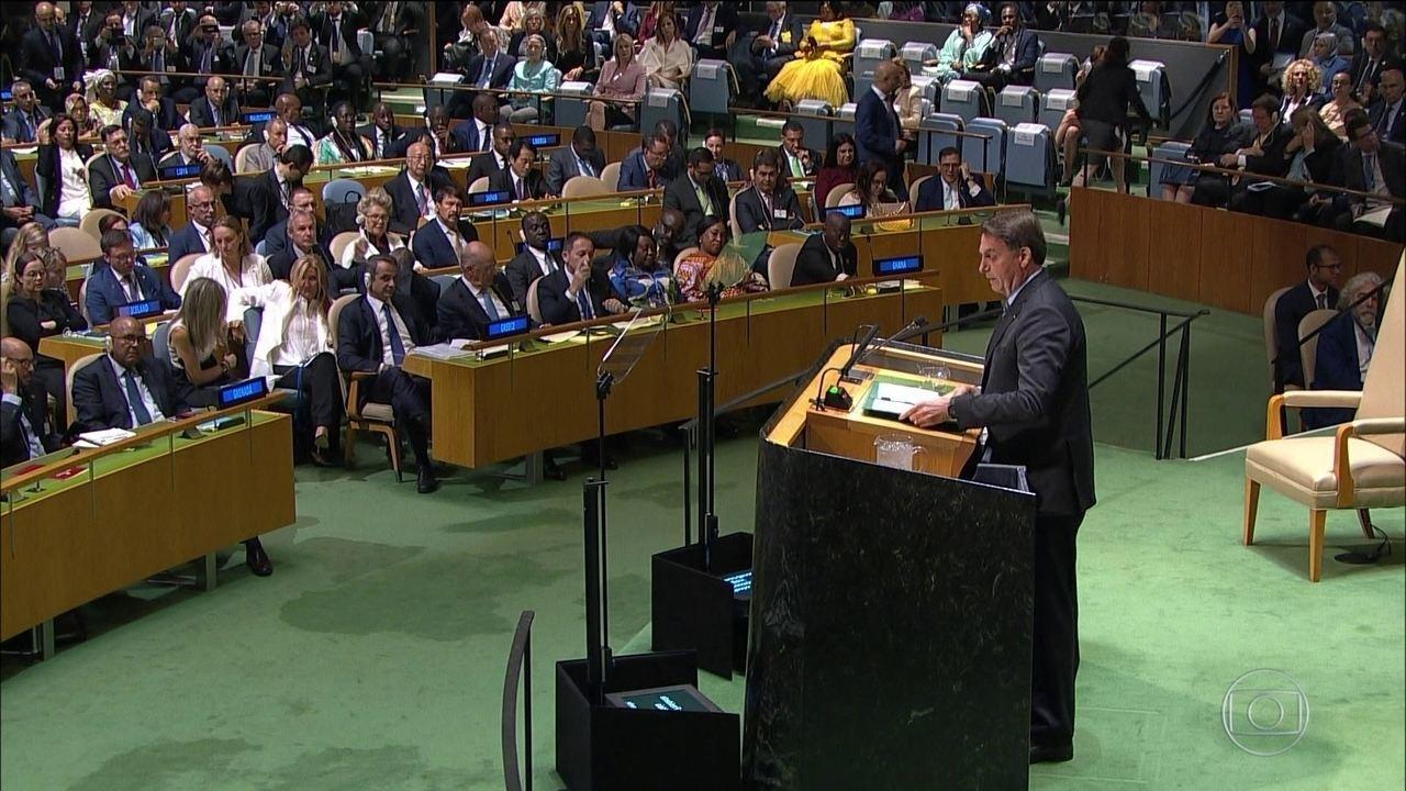 Discurso de Bolsonaro repercute entre indígenas e representantes de outros países