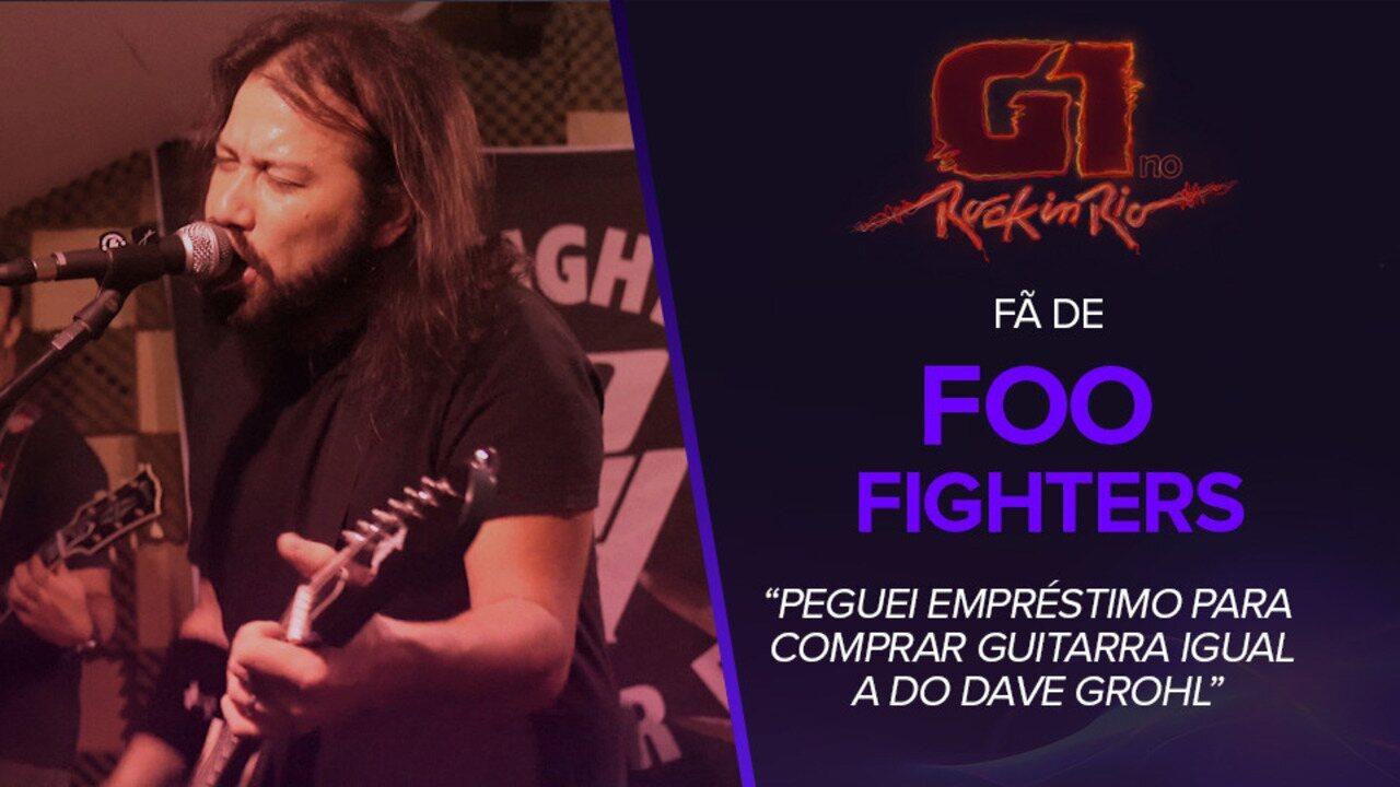 Fã de Foo Fighters diz ser confundido com Dave Grohl