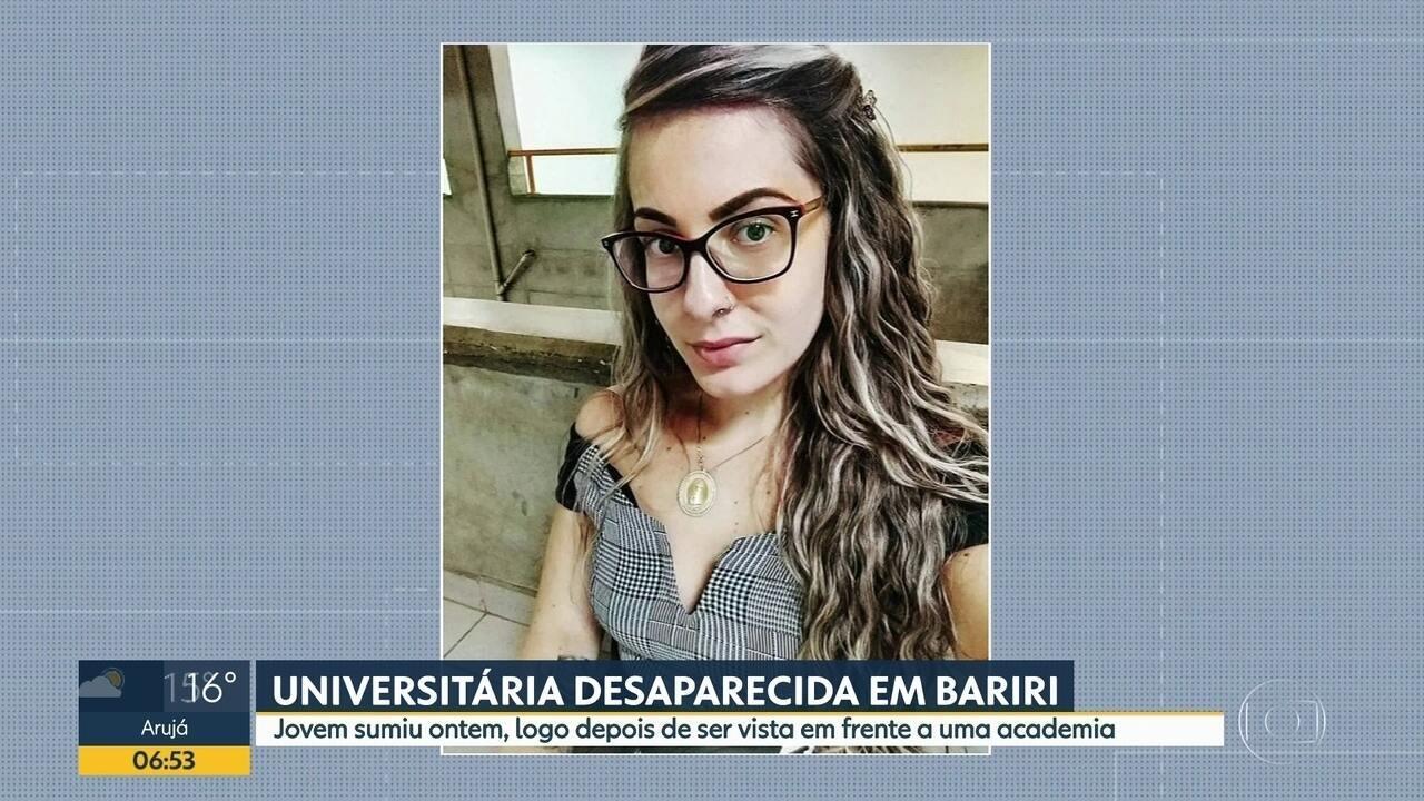 Universitária desaparece em Bariri