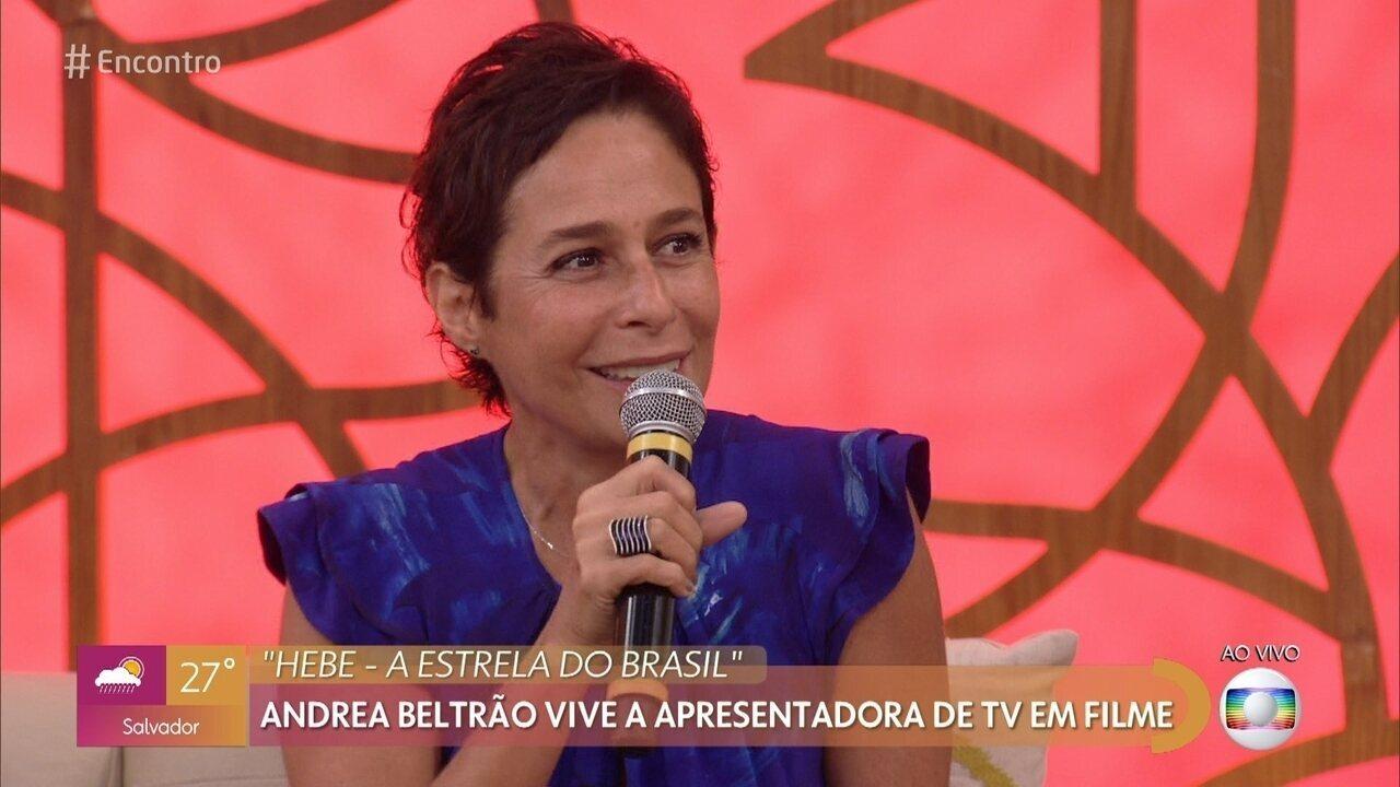 Andrea Beltrão fala sobre a estreia do filme 'Hebe - A Estrela do Brasil'