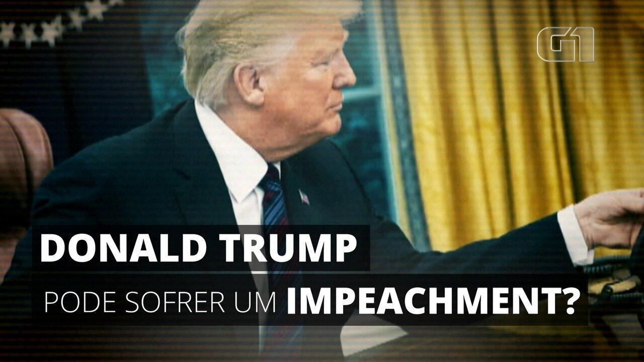 Trump pode sofrer um impeachment? Entenda a abertura do processo