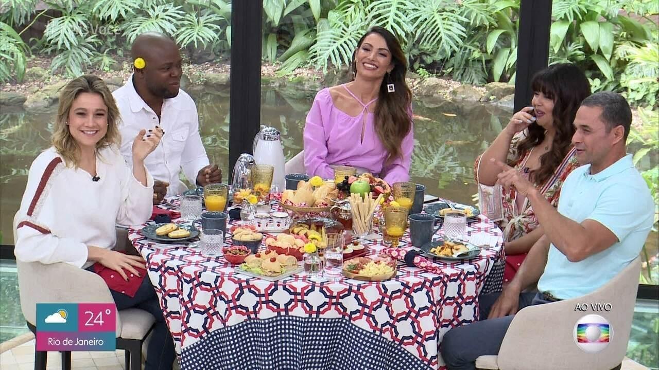 Fernanda Gentil, Fabiana Karla e Érico Brás relembram momentos divertidos