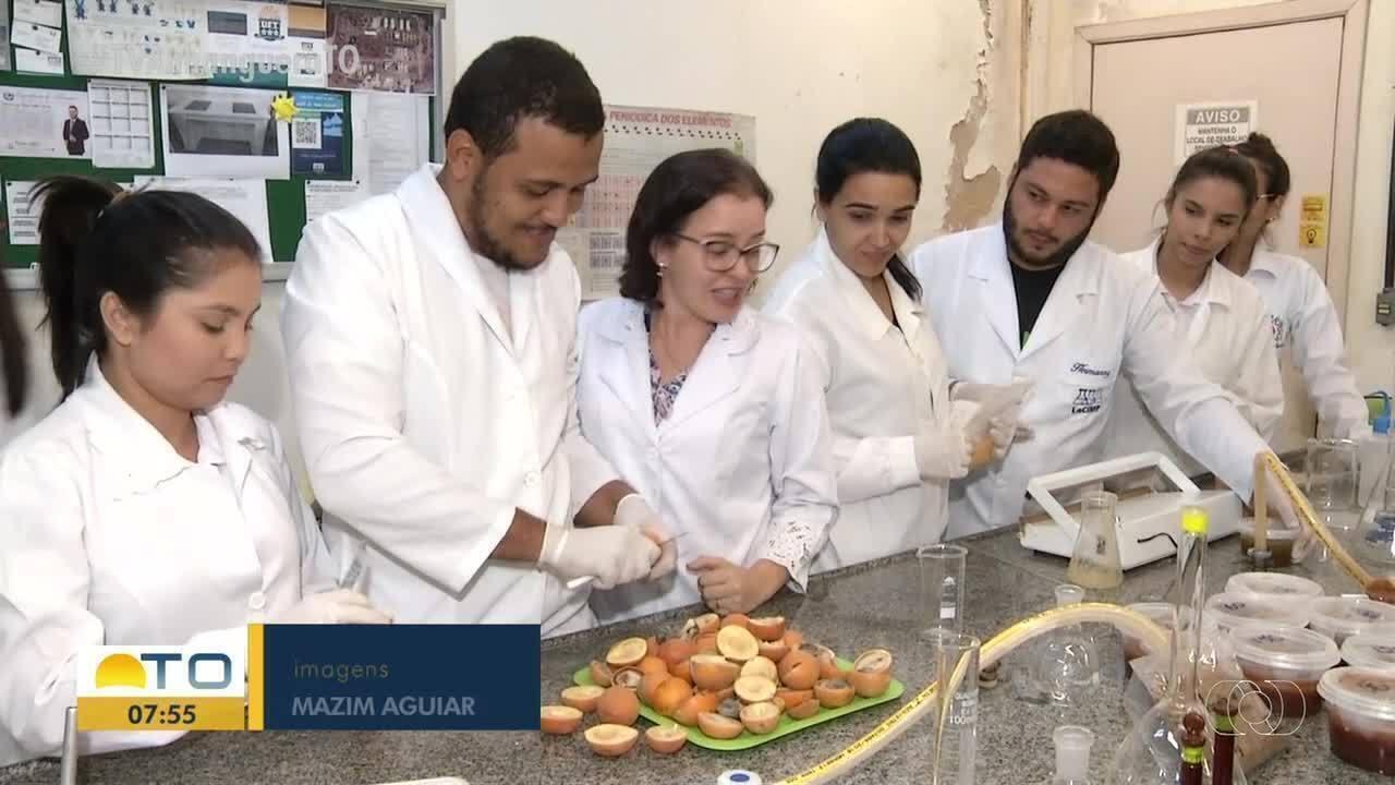 Frutos do cerrado são utilizados para a criação de doces por alunos da UFT