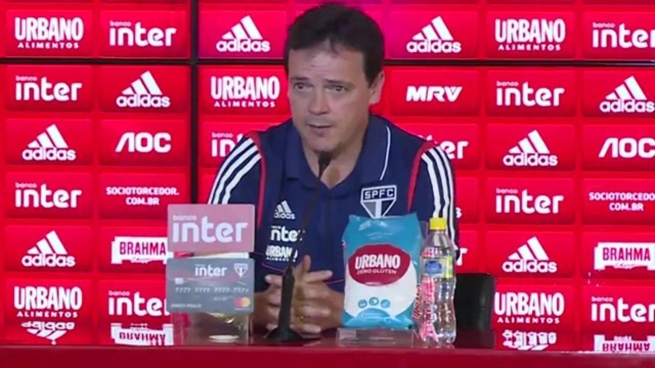 """Fernando Diniz afirma: """"O DNA do São Paulo tem muito a ver comigo"""""""