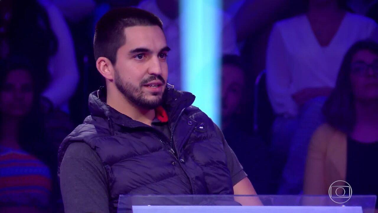 Paulo Roberto Júnior participa do 'Quem Quer Ser um Milionário'