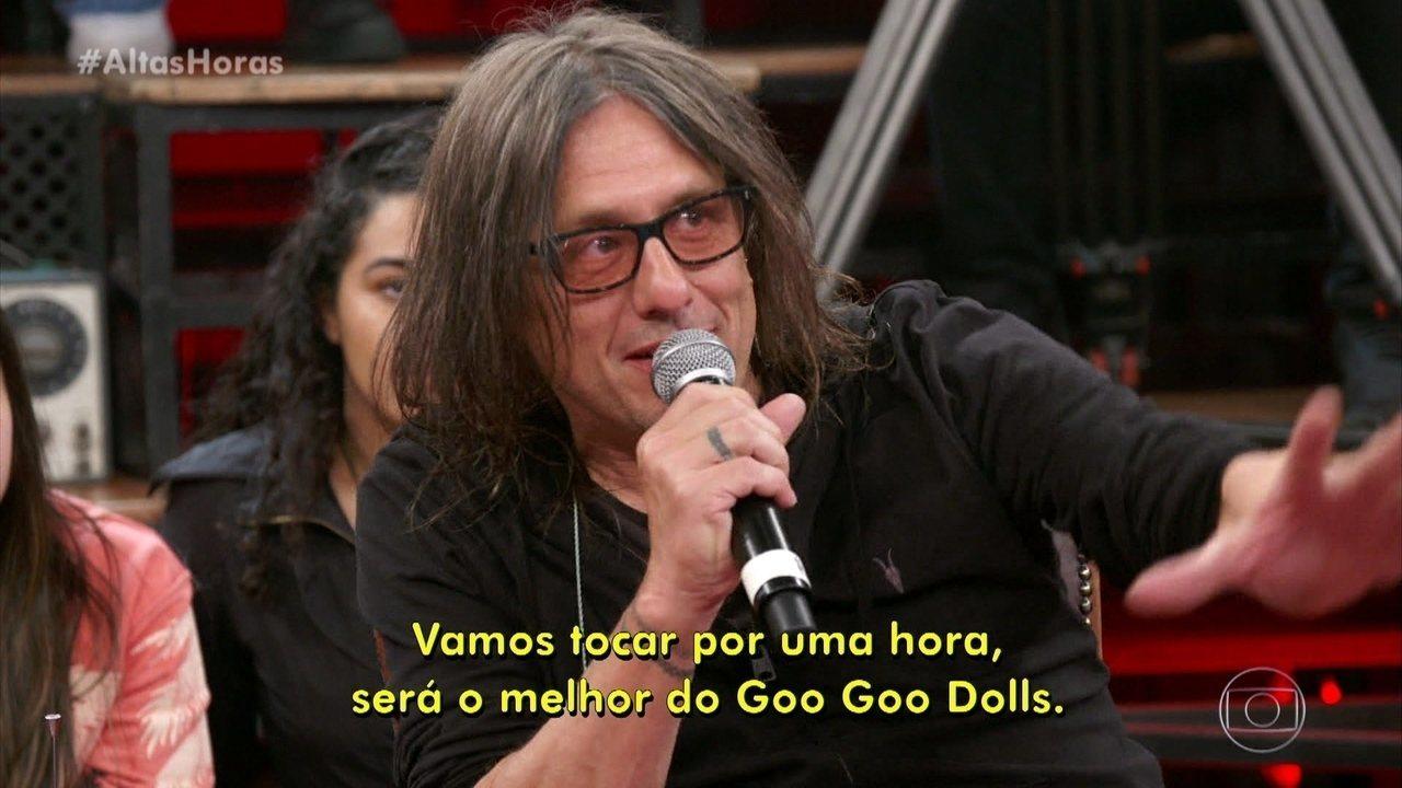 Johnny e Robby do Goo Goo Dolls falaram sobre tocar no Rock in Rio