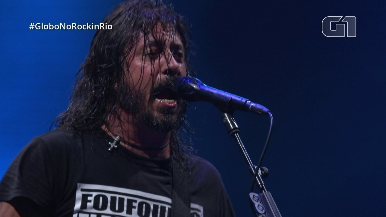"Foo Fighters toca ""Learn to Fly"" no Rock in Rio"
