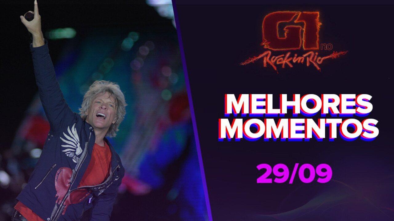 Bon Jovi E Eleito O Melhor Show Do 3º Dia Do Rock In Rio 2019 Rock In Rio 2019 G1