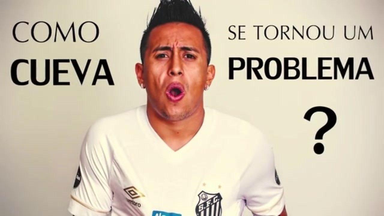 Cueva é bomba-relógio que Santos não sabe como desarmar; veja resumo da trajetória no club