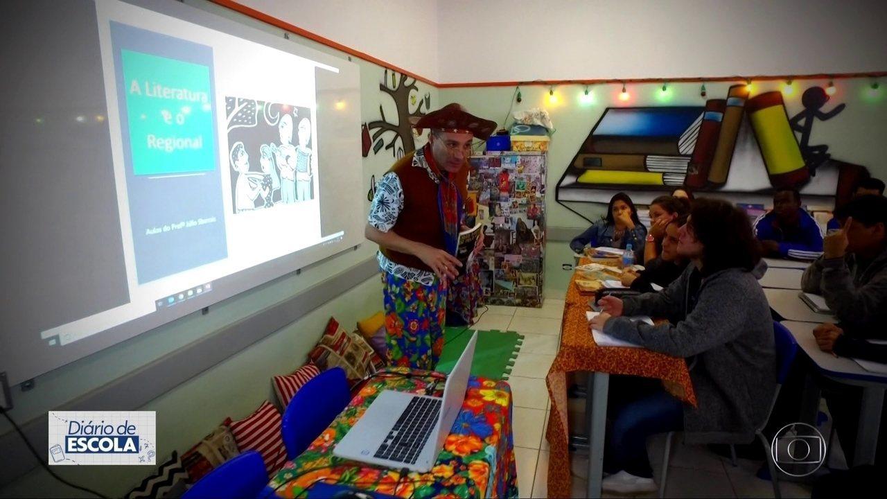 Escola mais antiga do estado atrai alunos de todas as regiões da Capital