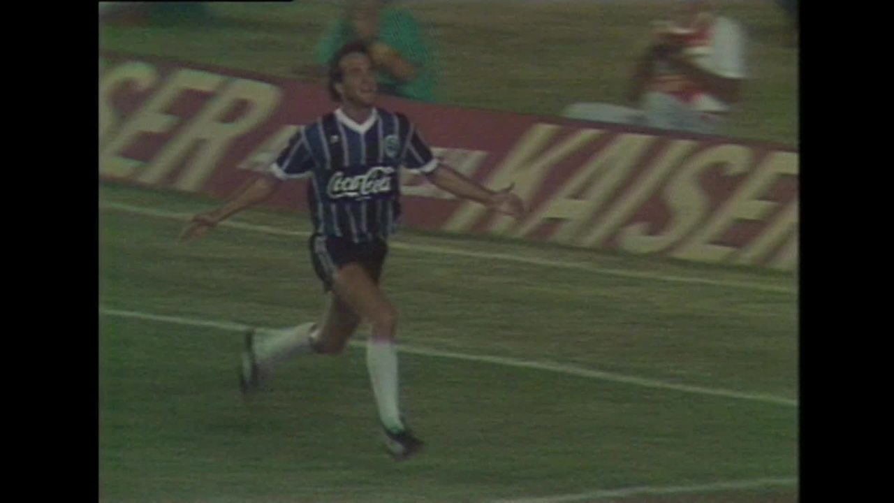 Flamengo x Grêmio - Quartas de final do Brasileiro 1988